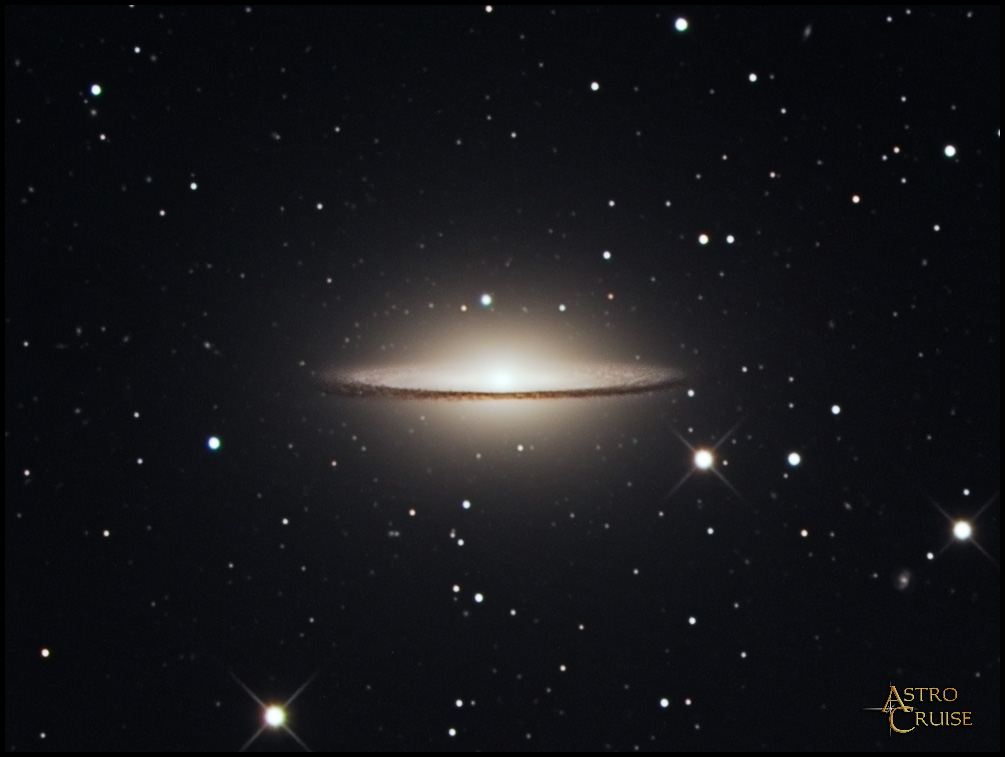 Who Discovered the Sombrero Galaxy - Pics about space
