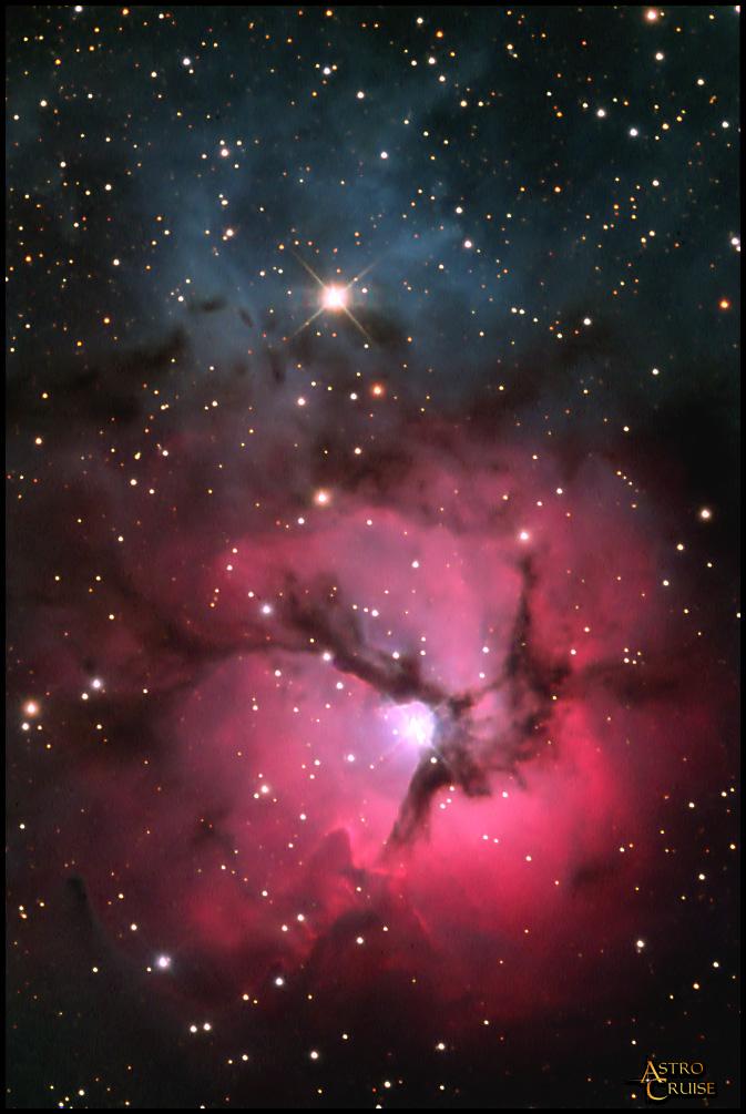 trifid and lagoon nebula - photo #48